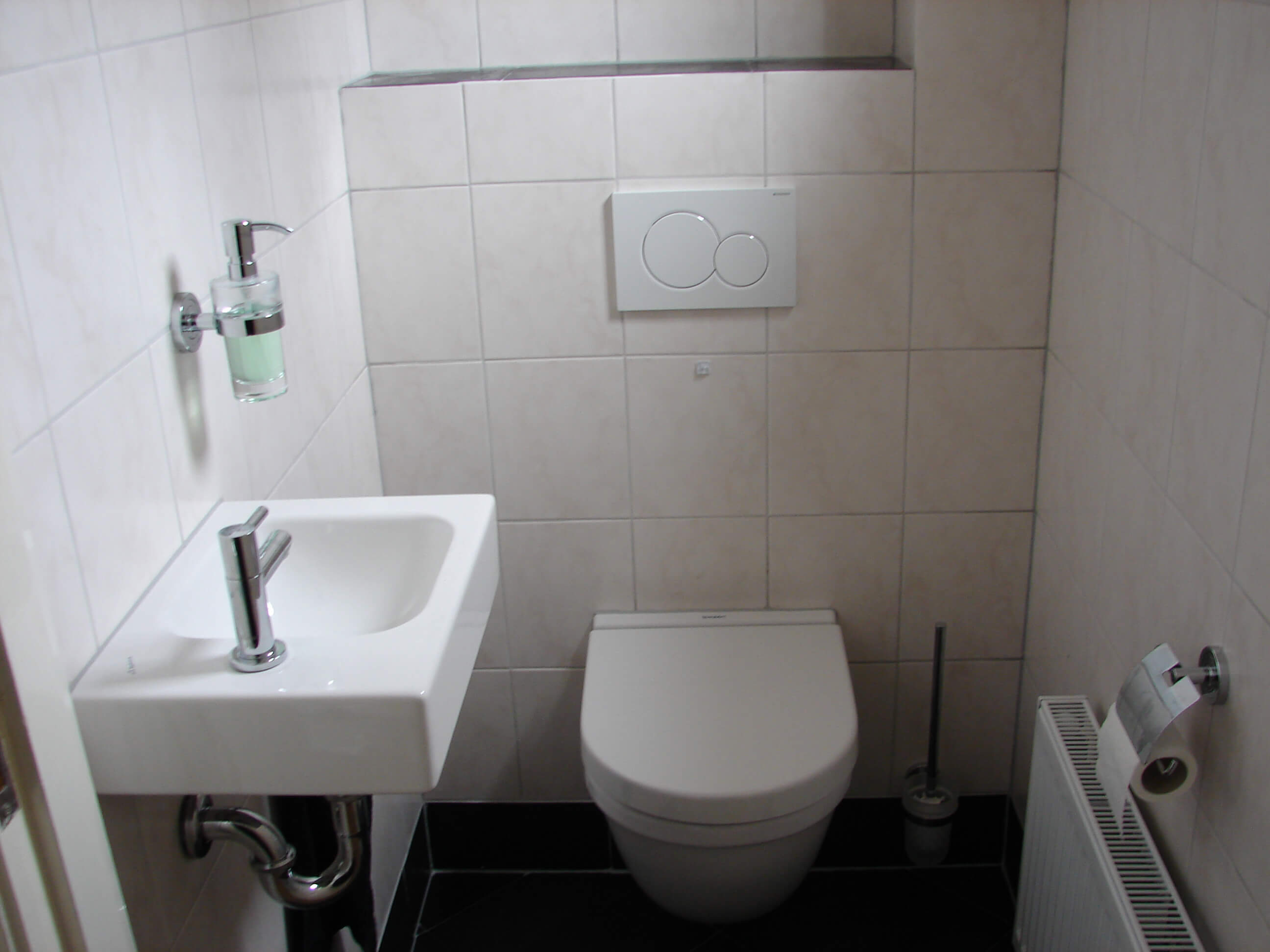 Renovatie toiletruimte 1
